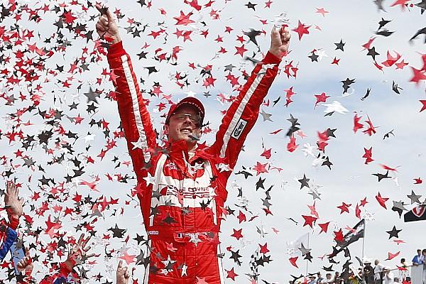 IndyCar 速報ニュース 【インディカー】最後尾から優勝のブルデー「実はレースを諦めていた」