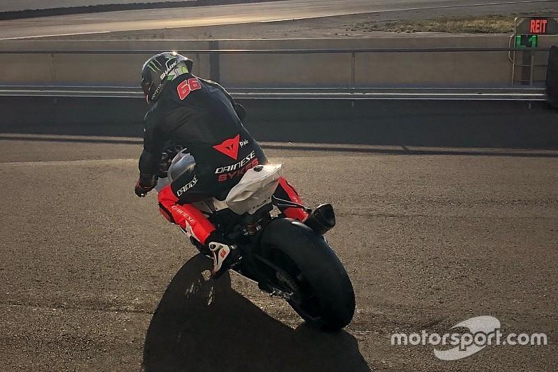 Sykes contento dei primi test BMW ad Almeria: