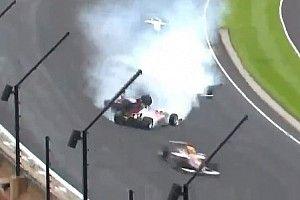 VÍDEO: Acidente impressionante marca corrida da Indy Lights em Indianápolis