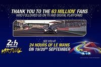 Rekordokat döntött a virtuális Le Mans-i 24 órás verseny