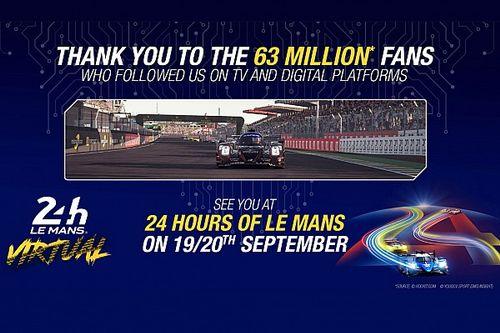 Le Mans virtual tem recorde de audiência na TV e em meios digitais