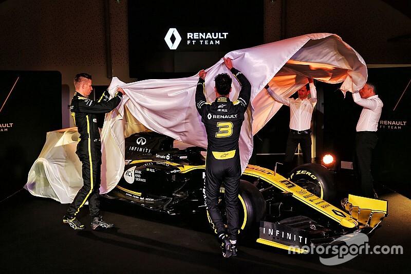Renault launches its 2019 Formula 1 car