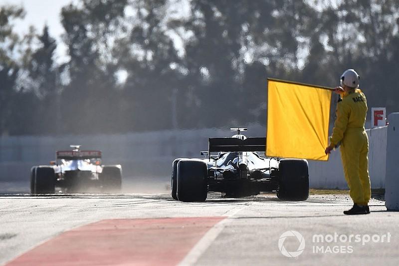 Ergebnis: Formel-1-Tests in Barcelona, 1. Tag
