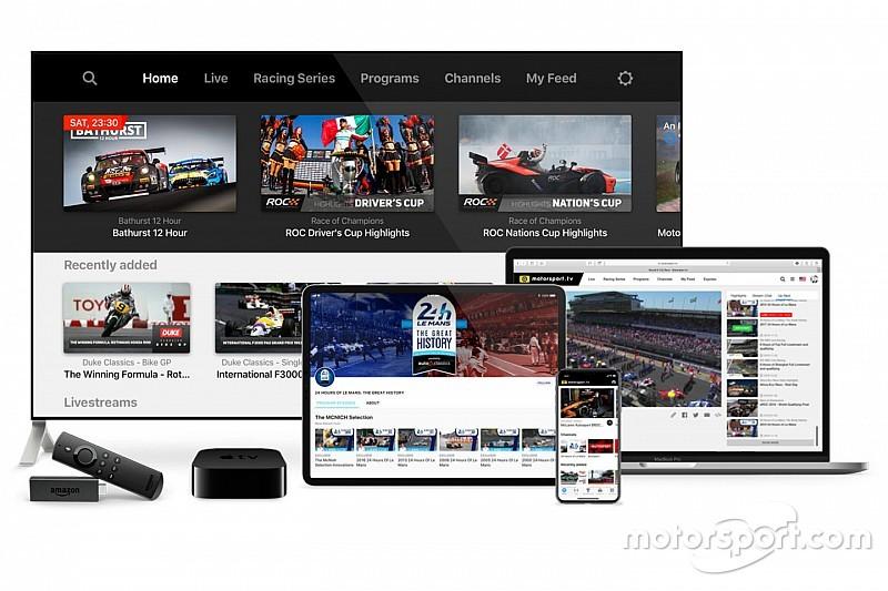 Motorsport.tv taraftarlar için ücretsiz bir servis başlattı