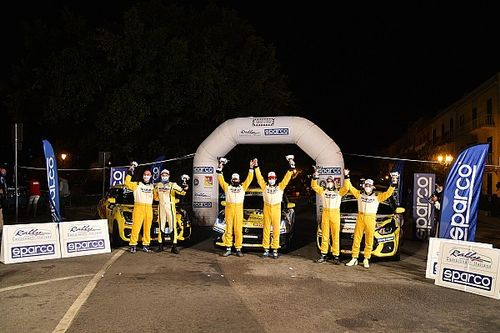 Suzuki Rally Cup: è tris per Goldoni-Macori al Targa Florio