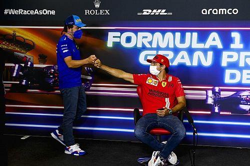 ¿Quién acabará delante en la F1 2021, Alonso o Sainz? Opinan ellos