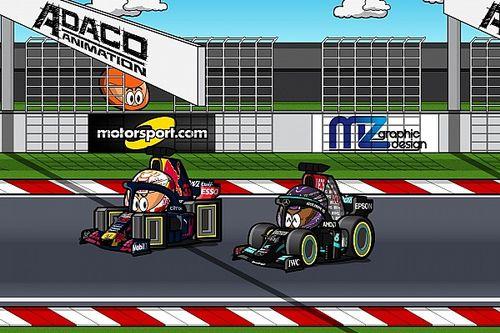 Vídeo: el GP de España 2021 de F1, por MiniDrivers