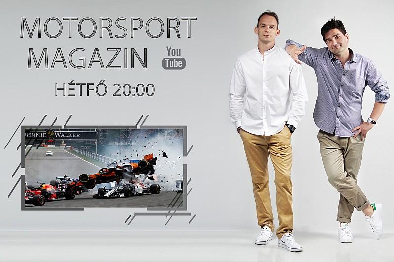ÉLŐ F1-ES MŰSOR: Vettel tarolt, esélytelen Mercedes Monzában is?