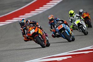MotoGP Отчет о тренировке Восемь гонщиков упали в третьей тренировке Гран При Америк