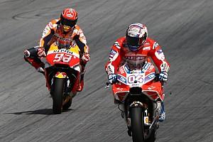 "MotoGP Últimas notícias Derrotado na última curva, Márquez se contenta: ""Eu tentei"""