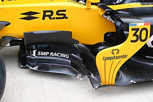 Formula 1 Top List Tech gallery: How the Renault RS17 evolved throughout 2017