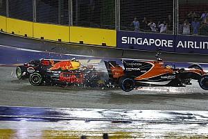 Forma-1 BRÉKING BRÉKING: Vettel, Räikkönen és Verstappen is azonnal kiesett Szingapúrban