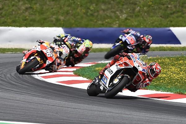 Lorenzo: Avusturya, Ducati için en tatmin edici hafta sonuydu