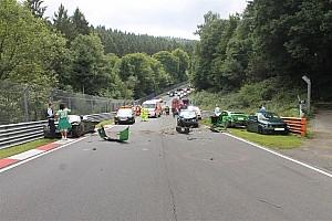 General Breaking news 10 Orang cedera akibat kecelakaan beruntun di Nordschleife