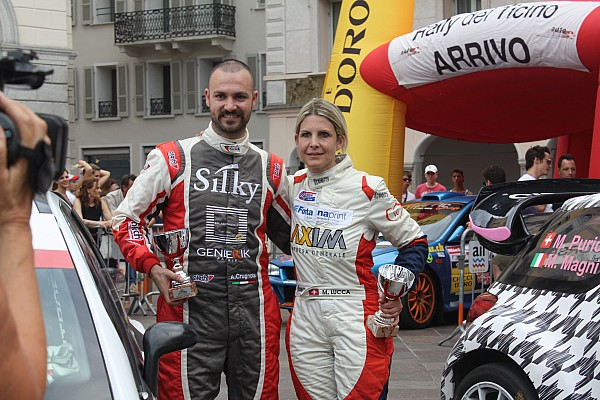 Rallye suisse Interview Crugnola :