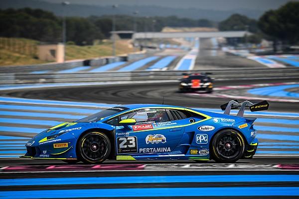 Lamborghini Super Trofeo Gara Cecotto e Postiglione centrano il terzo successo di fila al Paul Ricard
