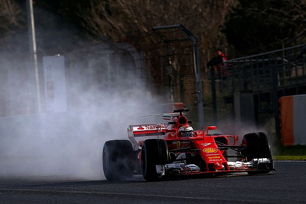 Tes Barcelona: Raikkonen dan Ferrari pimpin sesi tes