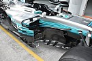 Még tovább bonyolódik a Mercedes oldalsó légterelőinek kialakítása