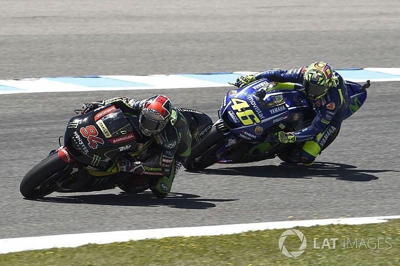 Rossi: Tech 3'ün fabrika Yamaha'larını yenmesi problem değil
