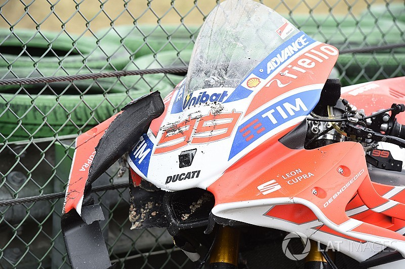 Analysis: Misano breaks MotoGP race weekend crash record