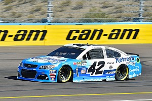NASCAR Cup Race report Larson wins Stage 1 at Phoenix over Hamlin and Elliott