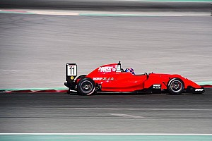 Indian Open Wheel Race report Dubai MRF: Drugovich extends points lead with Race 3 win