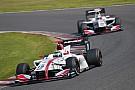 関口雄飛、レース戦略バッチリ遂行で2位獲得「タイヤは直前に決めた」