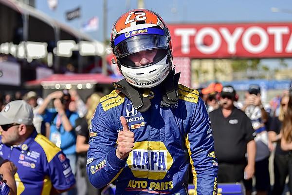 IndyCar Rossi regola i piloti del team Penske e centra la pole a Long Beach