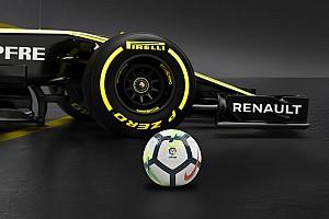 Formula 1 Ultime notizie La Renault avvia una partnership con LaLiga spagnola di calcio