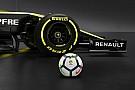 Formule 1 Renault Sport F1 s'associe au championnat espagnol de football