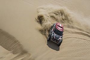 Dakar Noticias Terranova quedó atascado y perdió tiempo en la segunda etapa del Dakar