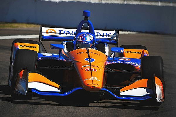 St. Pete IndyCar: Dixon on top as King stars, then shunts in FP3