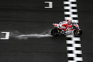 MotoGP Practice report Malaysian MotoGP: Dovizioso tops wet FP2 from Marquez