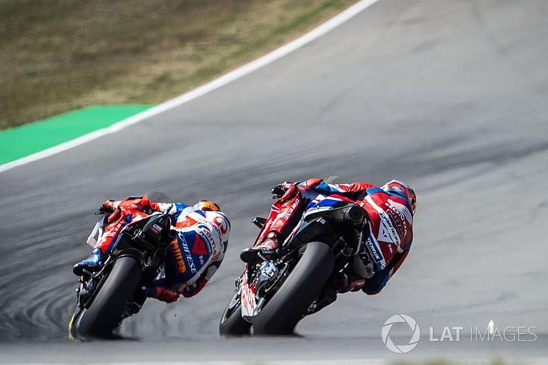 Положение в зачете MotoGP после Гран При Чехии