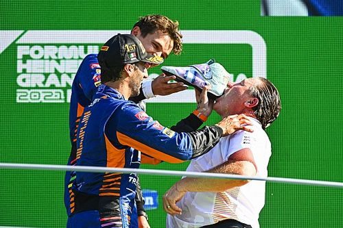 Zak Brown Akui GP Italia Jadi Hari Paling Membanggakan