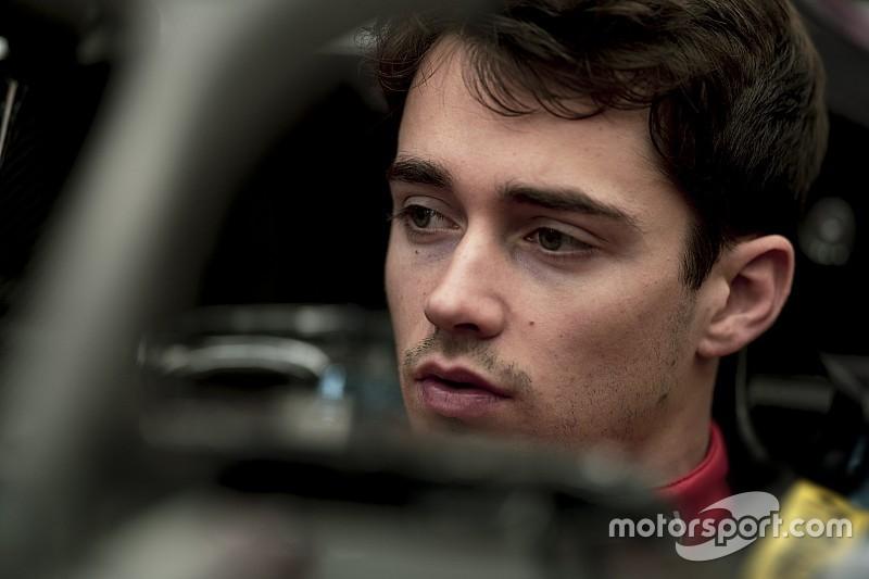 Leclerc a moulé son baquet Ferrari à Maranello