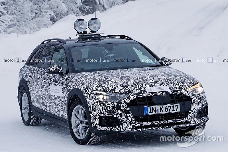 Нову Audi A4 Allroad «спіймали» на зимових тестах