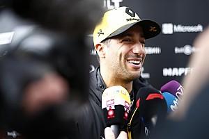 Ricciardo a hátsó szárnyas probléma ellenére sem aggódik a Renault miatt