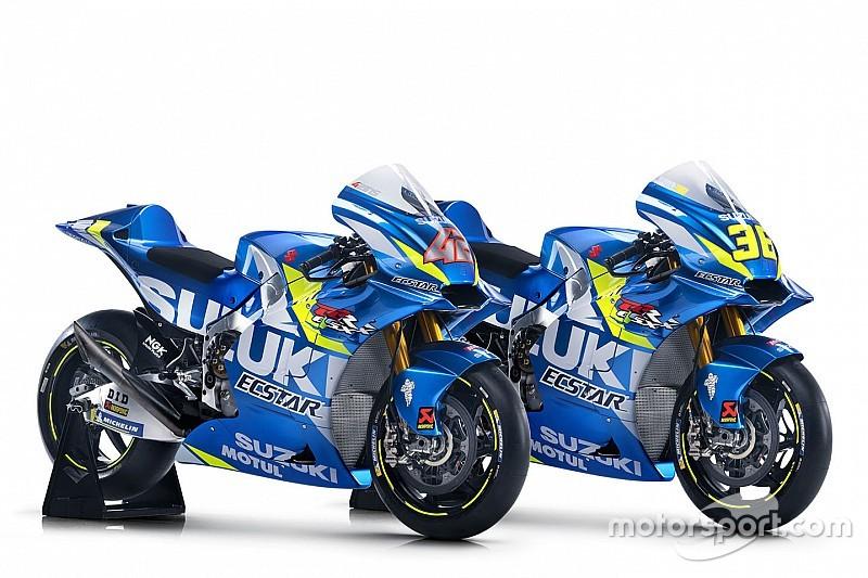 Suzuki reveals livery for 2019 MotoGP bike