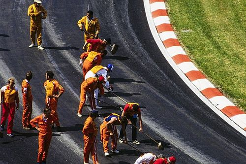 When Formula 1 last aborted a race at Spa