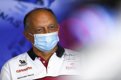 Frédéric Vasseur testé positif au COVID-19