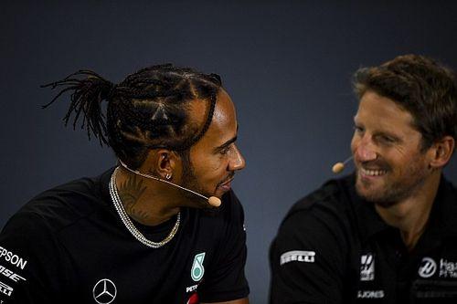 "Grosjean thinks Hamilton's F1 salary is ""unacceptable"""