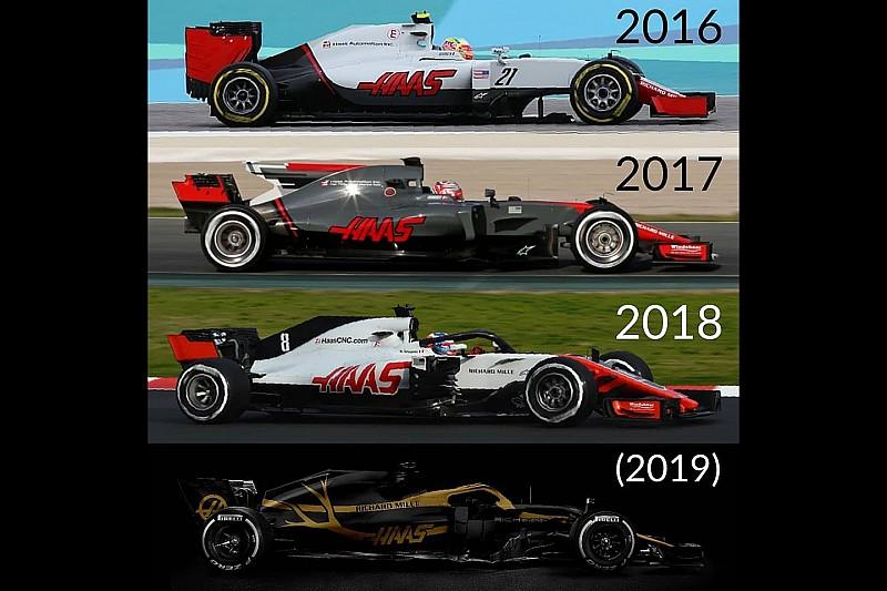 Rich Energy presentó su versión para la decoración de Haas F1