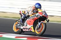 Marquez voor Yamaha-trio in warm-up GP Emilia-Romagna