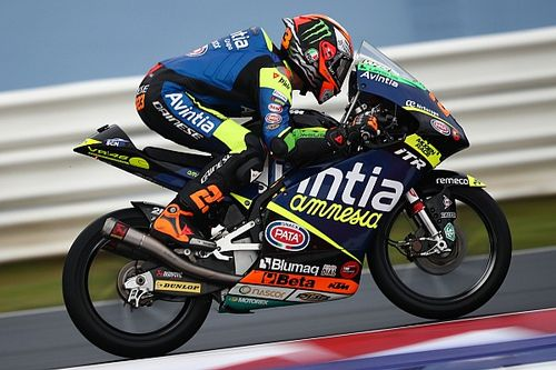 Hasil Kualifikasi Moto3 Emilia Romagna: Antonelli Pole, Andi Gilang P15