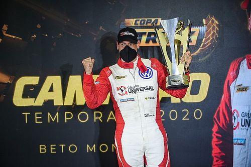 Beto Monteiro conquista bicampeonato inédito da Copa Truck