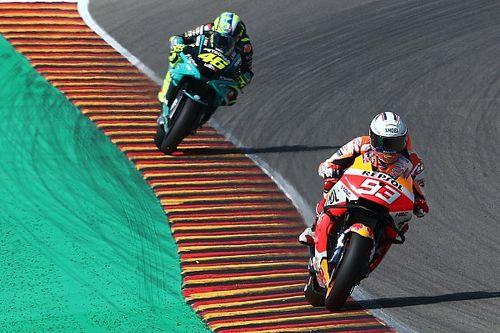 "Marc Márquez: ""Rossi hizo una carrera de leyenda"""