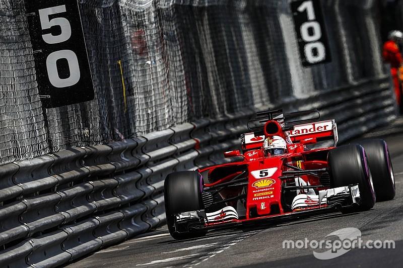 Гонщики Ferrari стали лучшими в последней тренировке в Монако