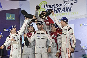 WEC Special feature Timo Bernhard: Sending Webber off on a high in Bahrain