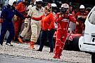 【F1】バルセロナテスト2日目:ボッタス首位。ライコネンがクラッシュ